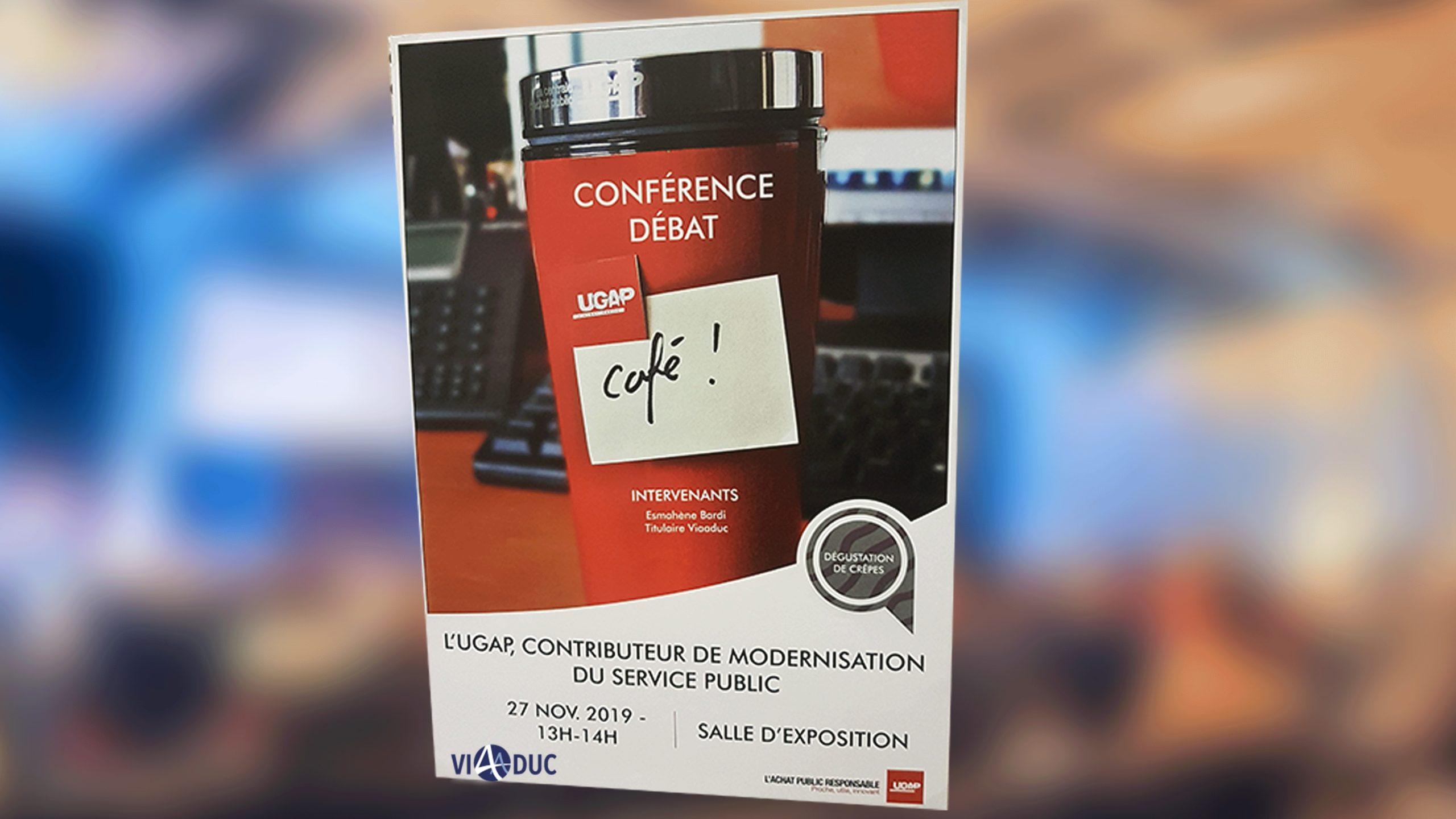 Affiche UGAP Café