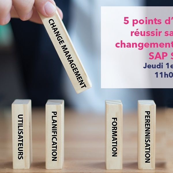 Webinaire SAP S/4HANA